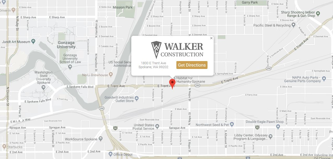 Walker Construction Map